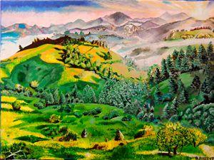 Original Acrylic Landscape Signed