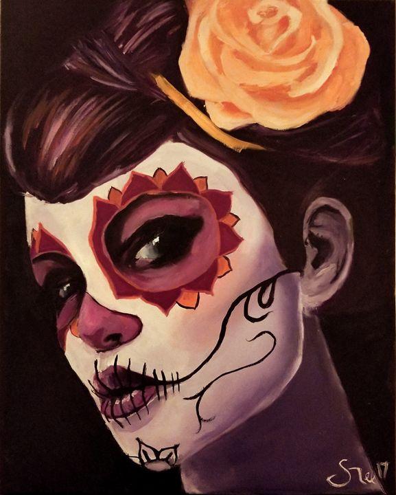 Sugar skull lady - Josh gee