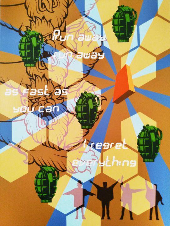 Monolith (orange) - Hirotaka Suzuki