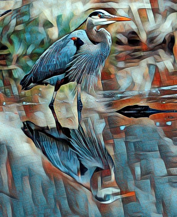 THE GREAT HERON - THE CREATION OF GOD