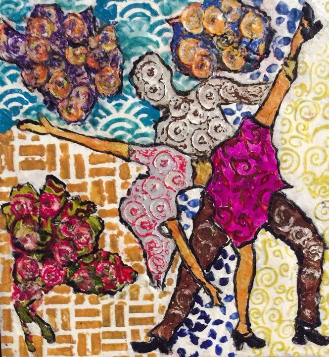 Salsa Dancers - Lara's Art