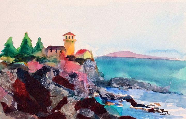 The Lighthouse - Lara's Art