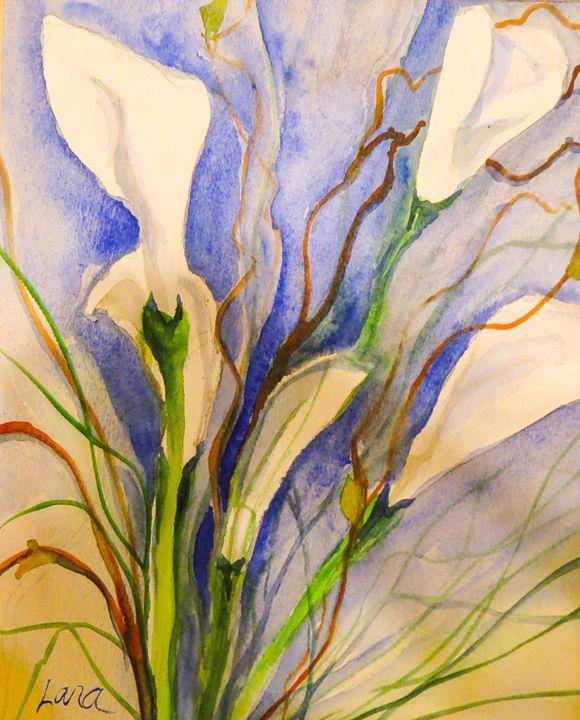 Lilies in summer - Lara's Art