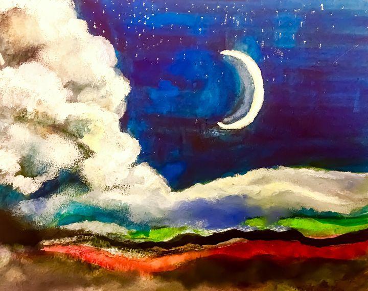 Moonlight Serenade - Lara's Art