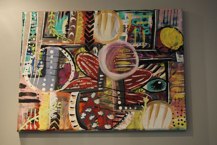 colorful abstract art by valv - Art By ValV