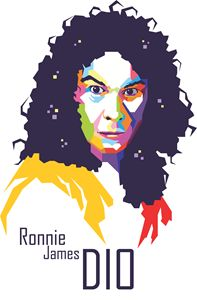 Ronnie James Dio (Pop Art)