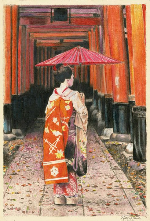 Geisha Girl - Searles's  Art