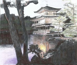 Golden temple - Searles's  Art