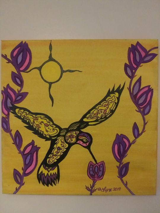 Hum of the hummingbird - Art by Lynx