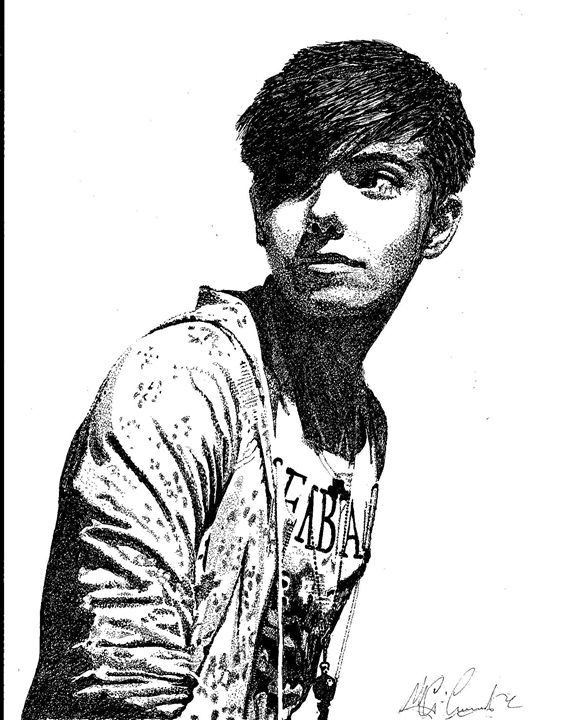 Nathan Sykes - THE Wanted - Annaz Pop Art