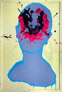 Portrait with Expanding Dimension