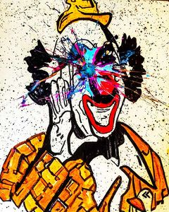 Sledgehammer Face Clown #26