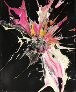 Symphony Explosion in Pink and White