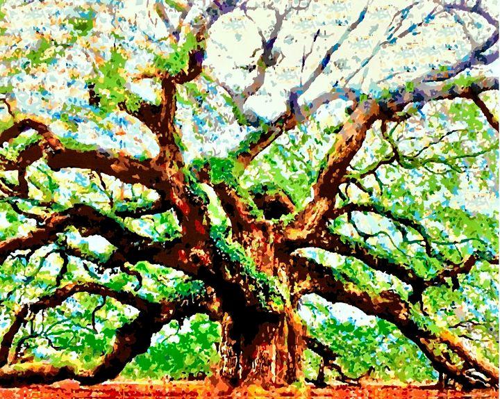 Angel Oak Tree - Lake Marion Artisans - Groen Gallery