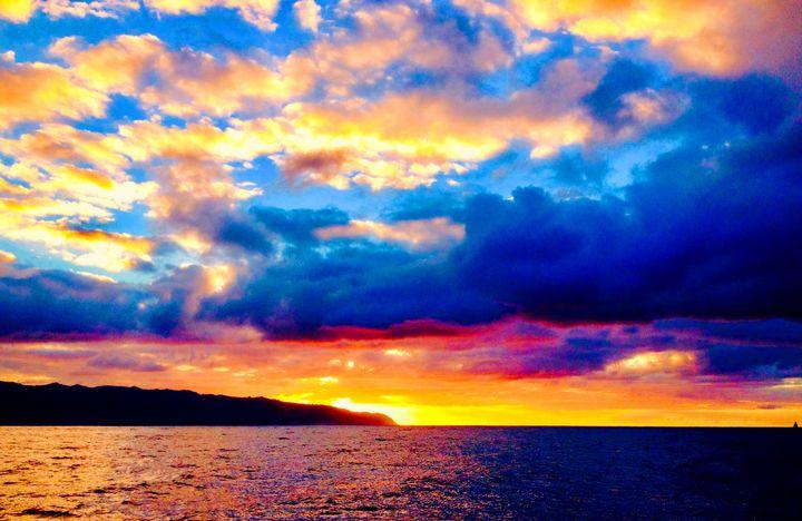 Haleiva Glorious Sunset Skies - Lake Marion Artisans