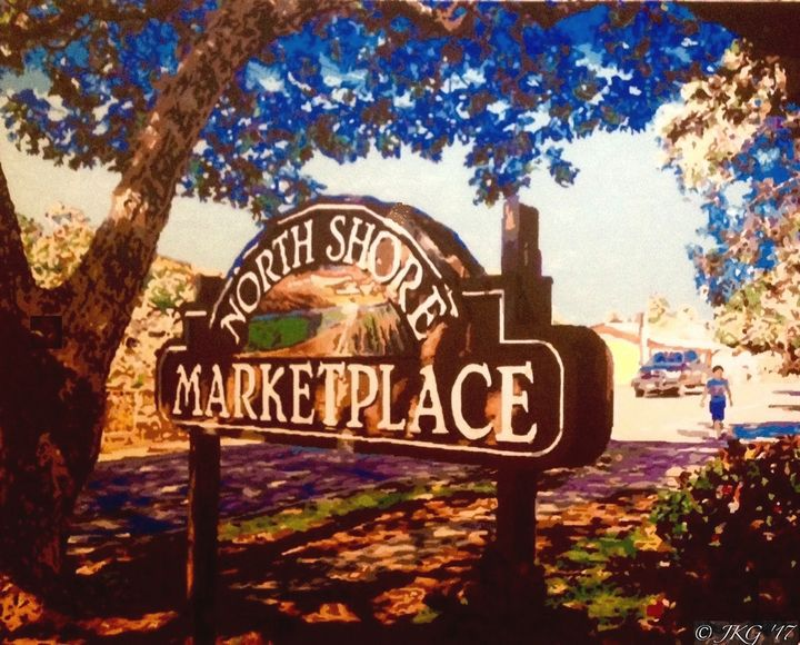 North Shore Marketplace - 'Artists Aflame' Family Gallery