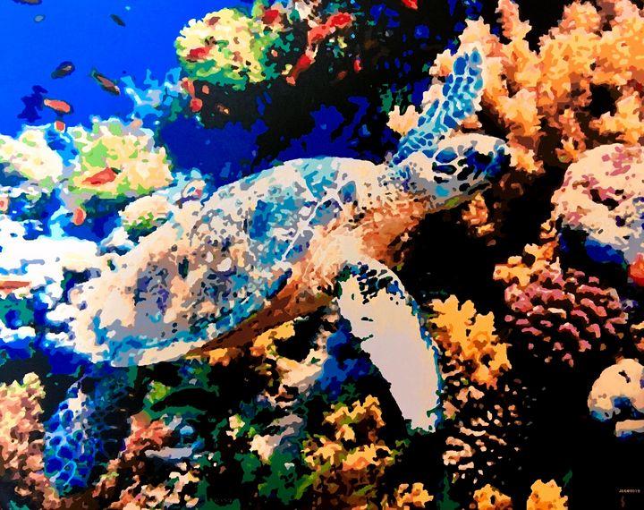 Turtle and Ocean Reef - Lake Marion Artisans