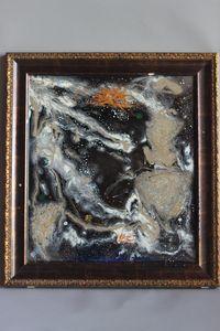 THE SUN| Resin Art on Glass|