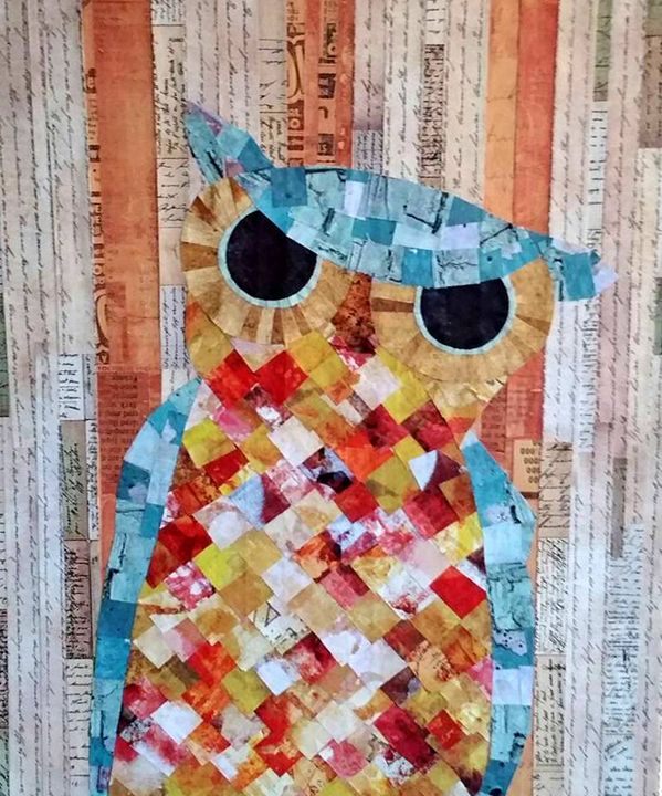 Quirky Owl - Conventionally Quirky by Alison Moore