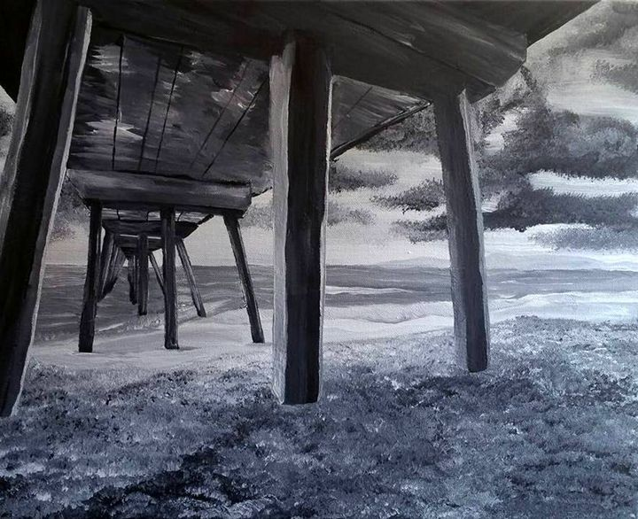 Under the Dock - Conventionally Quirky by Alison Moore
