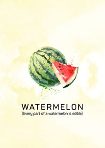 Fun with Fruits - Watermelon