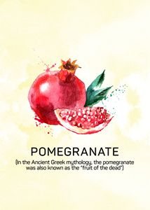 Fun with Fruits - Pomegranate