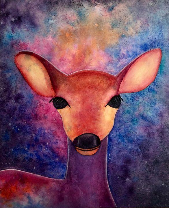 Galaxy Deer - Sara Seevers