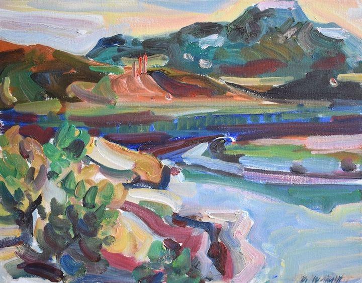 Abiquiu - Okerson Fine Art Gallery