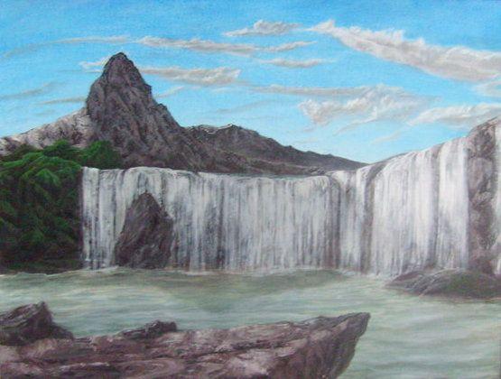 Waterfall - Lambev Gallery