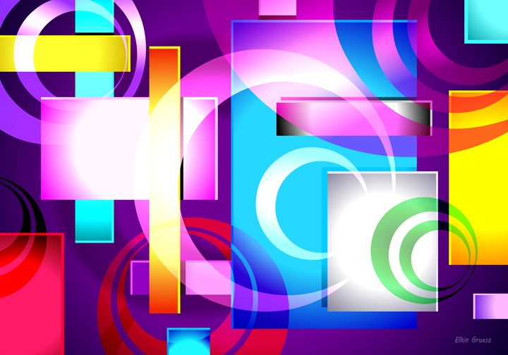 SONIKUS Abstract Digital Art #03 - Elkin Grueso ART