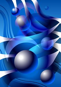 WATERMOON Abstract Digital Art #06