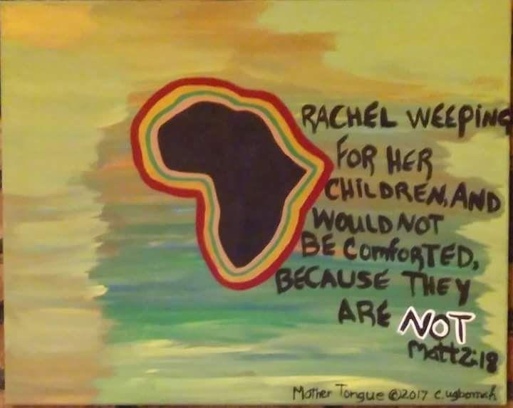 No.117 Mother Tongue - Artist Christine Ugbomah