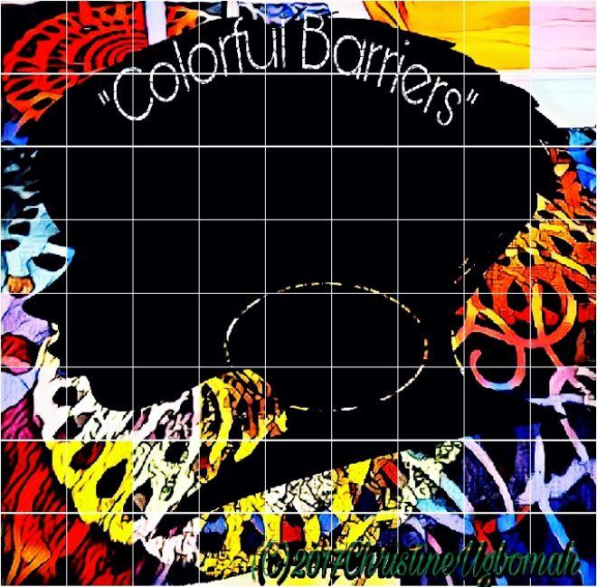 No.292 Colorful Barriers 12Pc Set - Artist Christine Ugbomah