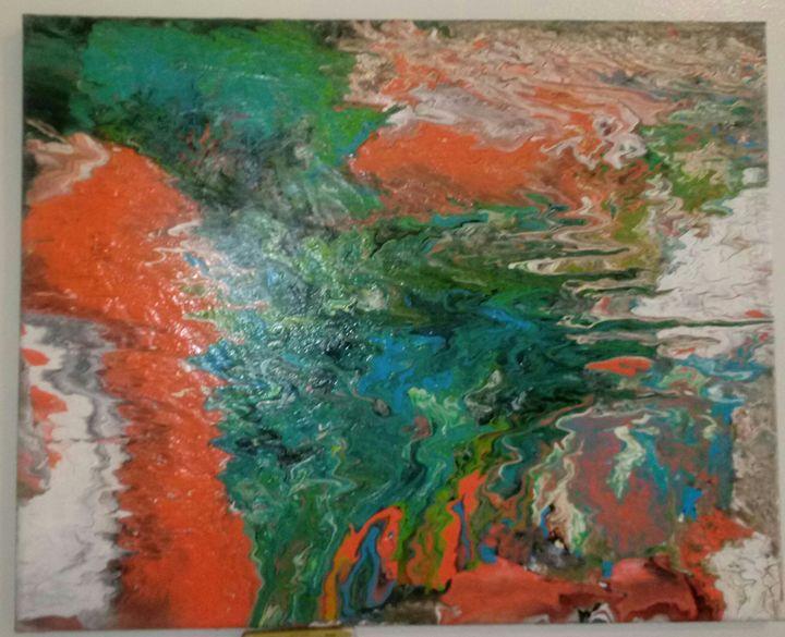 No.345 Gushing Waves That Heal - Artist Christine Ugbomah