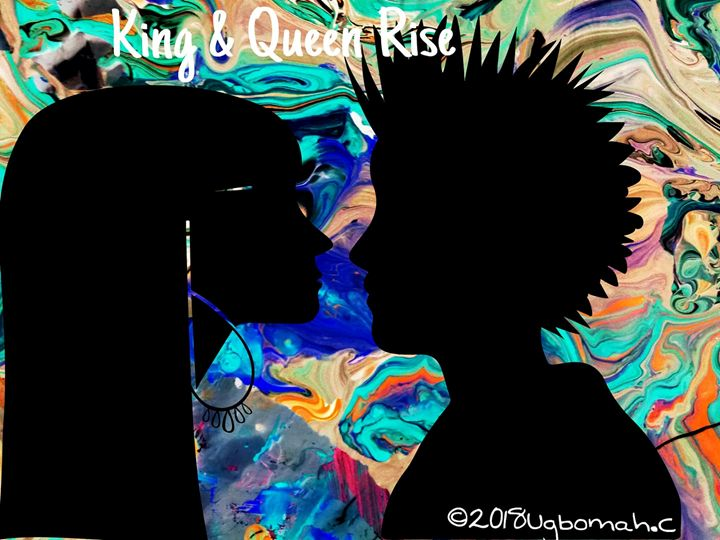 No.450 King & Queen Rise - Artist Christine Ugbomah