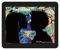 No, 0277 King & queen Rise Mouse Pad