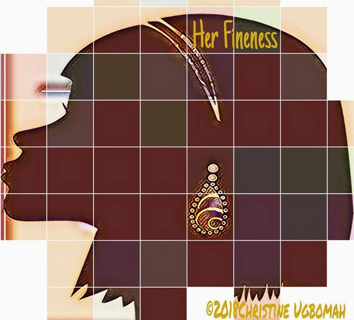 No. 828 Her Fineness - Artist Christine Ugbomah