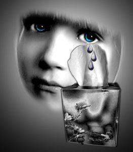 Tears caught
