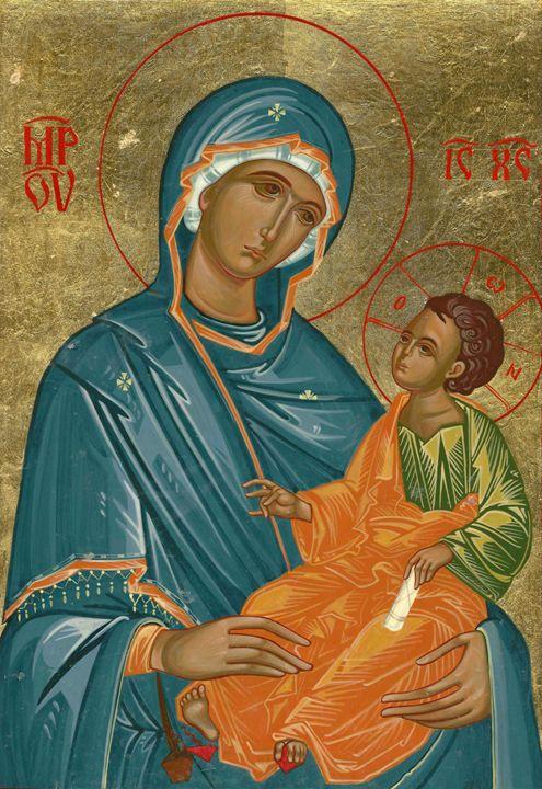 Virgin Mary with Jesus Christ - Mitan Bogdan