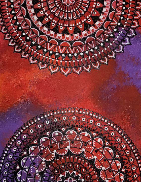 Nebula mandala - Pure Creations