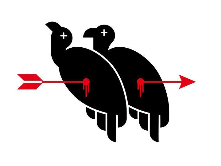 One arrow double vultures - ARTII