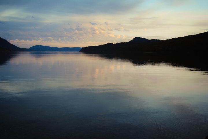 Orcas Island Sunset - Chelsea Moudry Photography