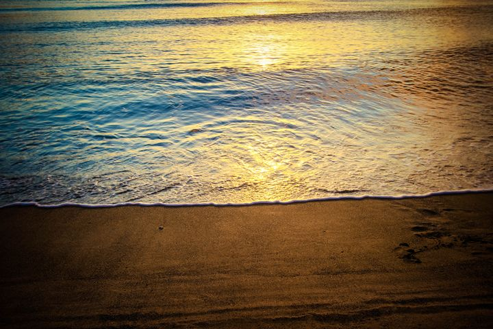 Ocean Sunset - Chelsea Moudry Photography