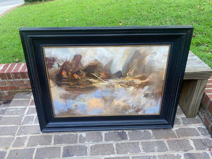 Abstract Landscape - HayesArtwork