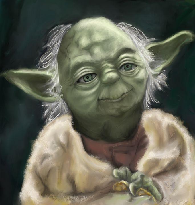 Yoda - Caddywhompuscreation