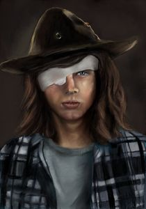 Carl The Walking Dead