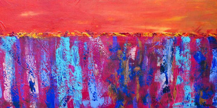 JMM: Southwestern Turquoise - Moyle's Abstract Fine Art