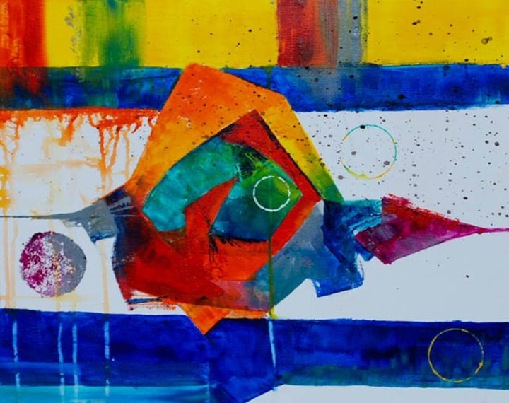 John and Jerry - Moyle's Abstract Fine Art