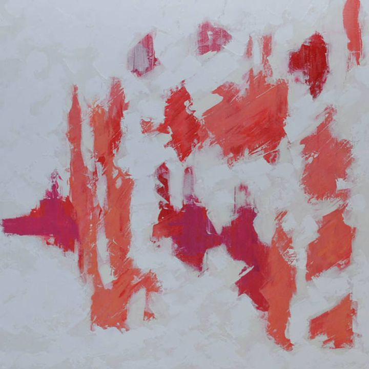 JMM: Coral, Peony, and Mauve - Moyle's Abstract Fine Art