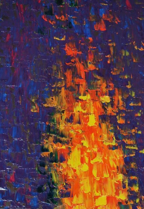 JMM: The Flame to Unite Us All - Moyle's Abstract Fine Art